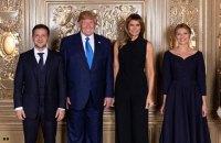 Зеленський сфотографувався з Трампом