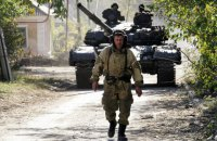 Боевики ночью десять раз обстреляли украинских военных