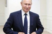 """Путін похвалив """"щире прагнення"""" Зеленського врегулювати конфлікт на Донбасі"""