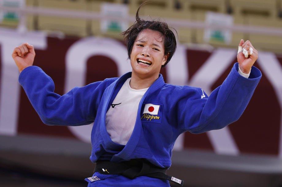 Японка Ута Абе радіє перемозі