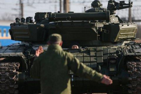 Минобороны насчитало 53 тысячи российских военных у границ Украины