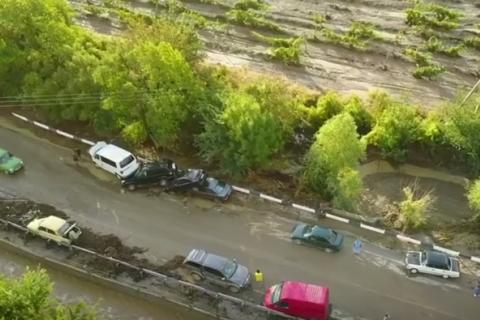 У Судаку евакуювали 76 осіб через сходження селевого потоку