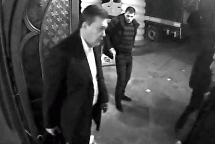 Бегство Януковича