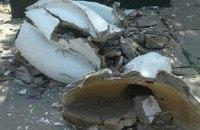 В окупованій Макіївці повалили пам'ятник Леніну