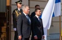 Зеленський зустрівся з президентом Фінляндії