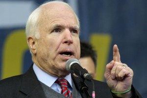 Маккейн раскритиковал Обаму за то, что гибнут украинцы