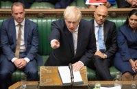 Британський парламент проголосував за дострокові вибори 12 грудня