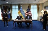 Україна і США підписали угоду про основи оборонного партнерства
