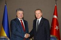 Порошенко призвал президента Турции содействовать в освобождении украинских заложников