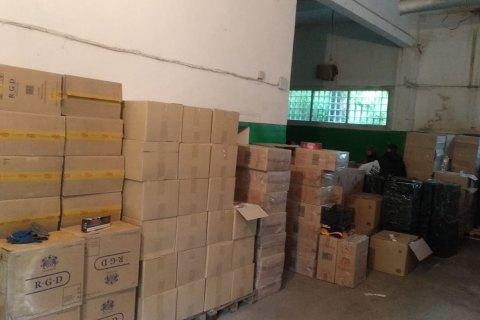 На Юге Украины пограничники обнаружили 900 ящиков контрабандных сигарет