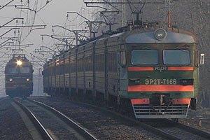 Под Харьковом электричка сошла с рельс