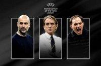 УЕФА объявил номинантов на звание лучшего тренера года
