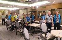 Олимпийцы минутой молчания почтили память погибших в Украине