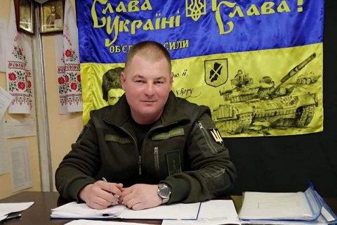 Зеленский посмертно наградил командира 1-й танковой бригады