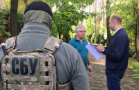 Під час обшуку у лідера КПУ Симоненка СБУ вилучила пістолет з глушником