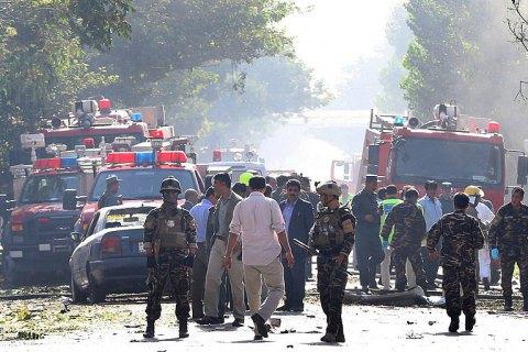 Устадиона вКабуле вовремя матча произошел взрыв