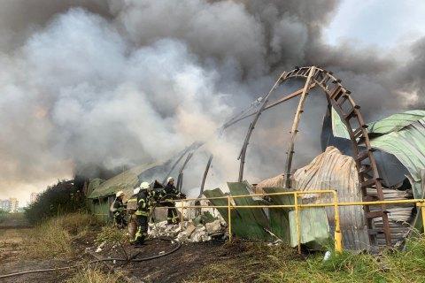 У Полтавській області згорів літак Ан-2, є травмовані