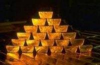 Золоті запаси України становлять 34,4 тонни