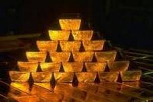Золотые запасы Украины составляют 34,4 тонны