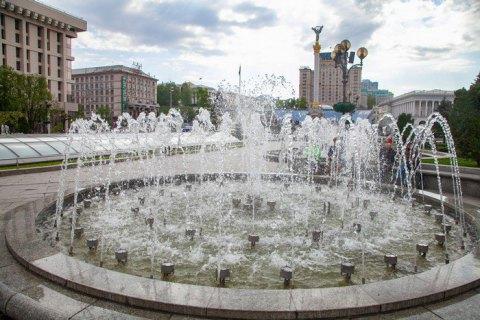 Київські фонтани припиняють роботу до наступного сезону