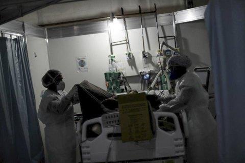 В Україні встановили рекорд за кількістю госпіталізованих пацієнтів з ковідом