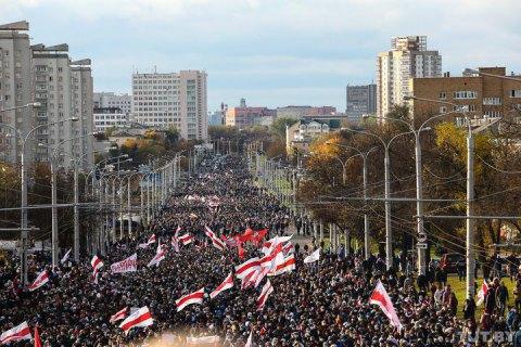 МВД Беларуси заявило о 280 задержанных во время воскресных протестов