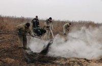 В Черниговской области тлеет 25 га торфяников