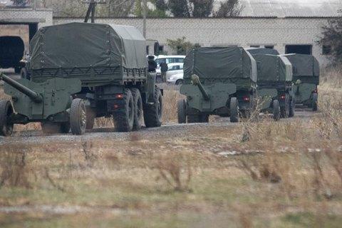 Боевики перебрасывают технику в Донецк