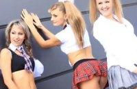 Смелая фотосессия луганских школьниц вызвала шквал комментариев в сети