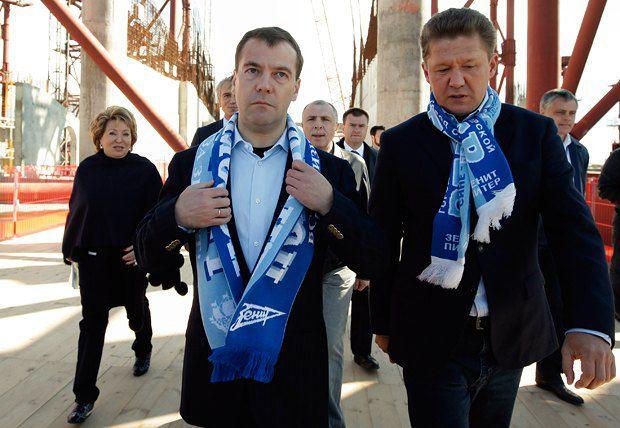 «Газпром» никак не может построить своему подшефному новый стадион, зато взялся за создание нового чемпионата