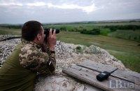 Доба на Донбасі минула без втрат серед українських військових