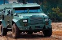 """ВСУ провели успешные испытания бронеавтомобиля """"Барс-8"""""""