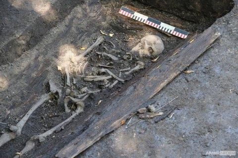 В Виннице нашли самое большое захоронение воинов Украинской Галицкой Армии и УНР