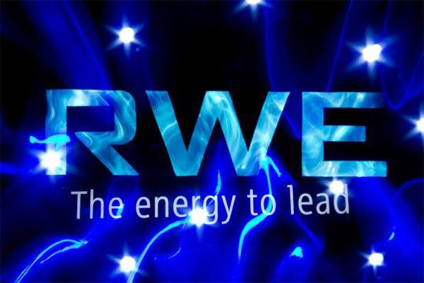 Лого енергокомпанії RWE