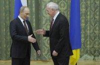 """Азаров написал Путину письмо с """"газовыми предложениями"""""""