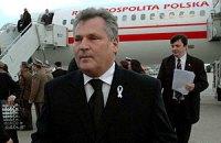 Квасьневский считает украинскую оппозицию самой сильной среди стран СНГ