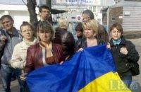Сотрудники киевского хлебзавода продолжают протестовать