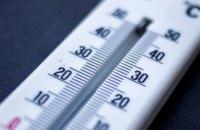 Температура у Києві побила ще один рекорд