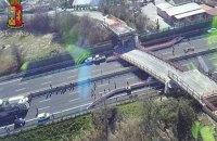 В Италии в результате обрушения моста погибла супружеская пара