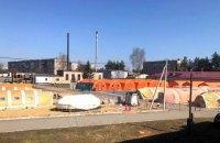 Мобільний госпіталь у Славуті почав приймати хворих на ковід