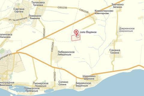 Боевики обстреляли из минометов Водяное у Коминтерново