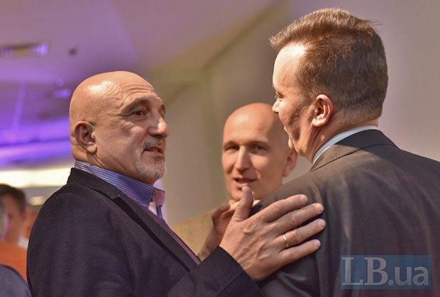 Иван Плачков (слева) и Виталий Бутенко (справа)