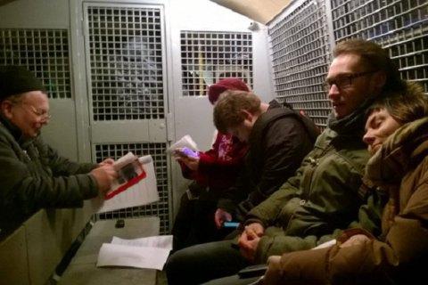 У Москві в День Конституції затримано 15 активістів, які читали пародію на Основний закон