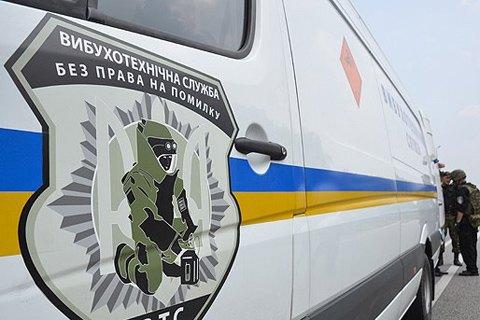 В подъезде жилого дома в Киеве на почтовом ящике нашли артснаряды