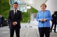 Зеленський нагородить Меркель орденом Свободи під час її візиту до Києва