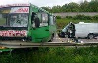 11 человек пострадали в ДТП возле Харькова
