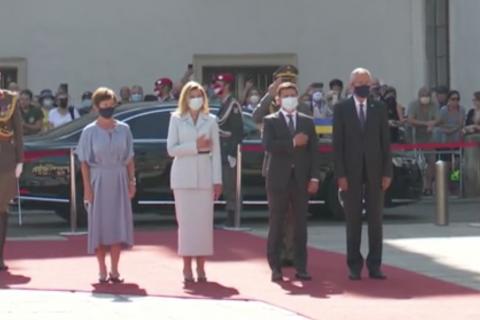 Зеленський прибув з офіційним візитом до Австрії