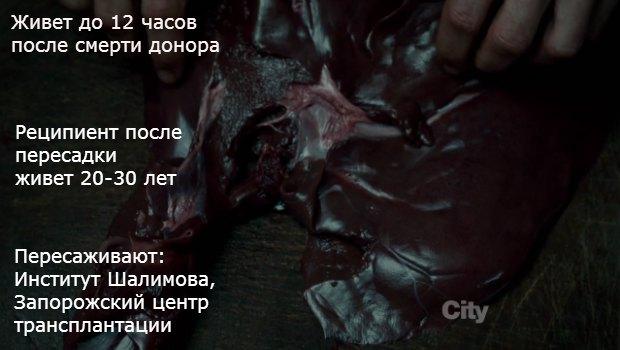 Кадр из сериала Ганнибал