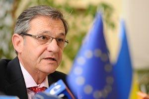 Послы стран ЕС поддерживают позицию посла ЕС в Украине Тейшейры
