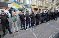 В Харькове вместо митинга за Тимошенко раздают презервативы